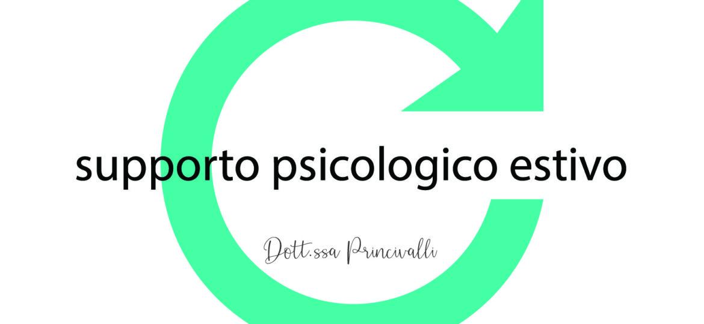upporto psicologico estivo